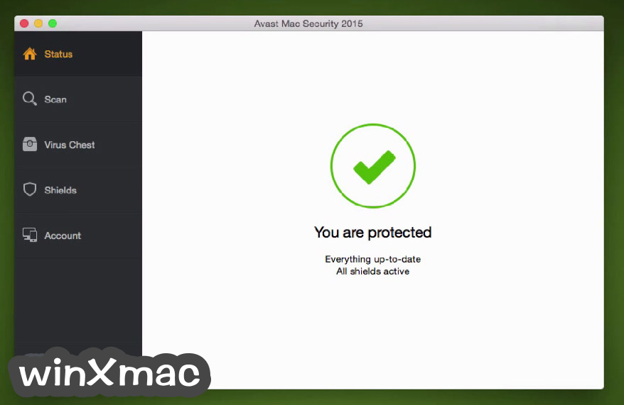 Avast Free Mac Security Screenshot 1