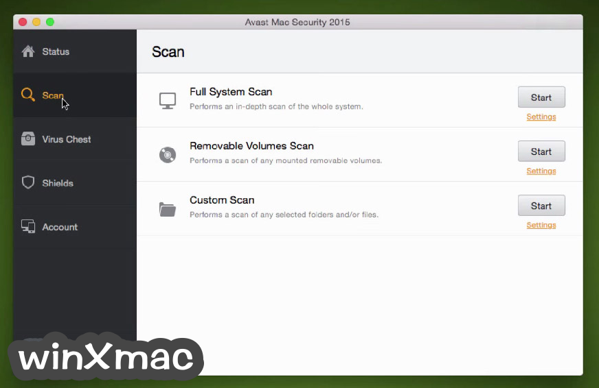 Avast Free Mac Security Screenshot 2