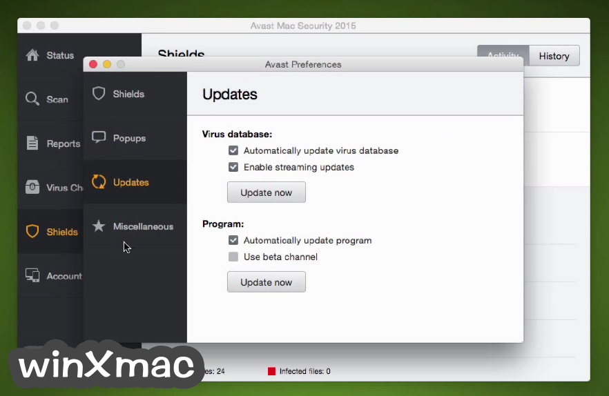 Avast Free Mac Security Screenshot 5
