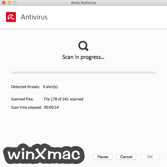 Avira Antivirus Pro for Mac Screenshot 3