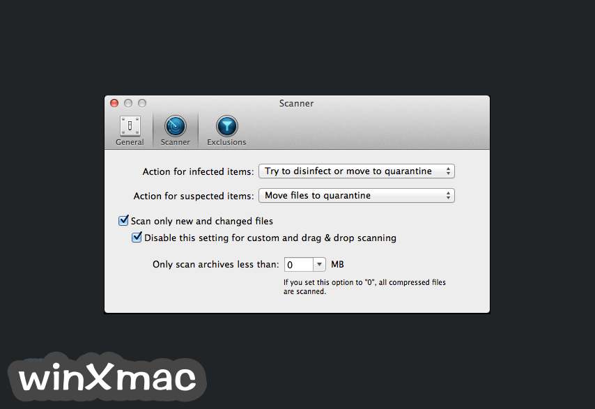 BitDefender Antivirus for Mac Screenshot 4