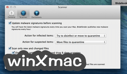 Bitdefender Virus Scanner for Mac Screenshot 3
