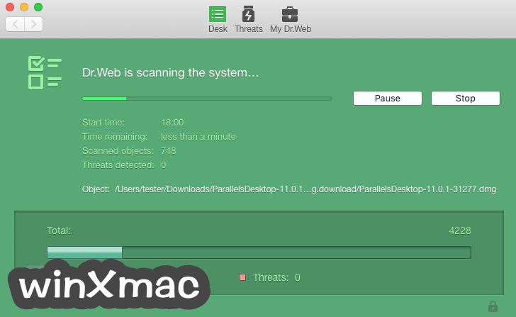 Dr.Web Anti-virus for Mac Screenshot 1