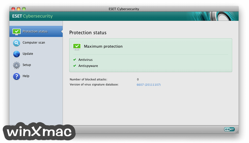 ESET Cyber Security for Mac Screenshot 1
