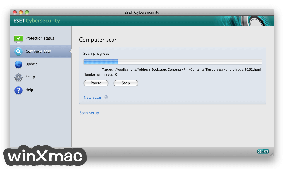 ESET Cyber Security for Mac Screenshot 2