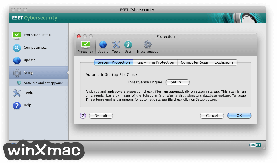 ESET Cyber Security for Mac Screenshot 3