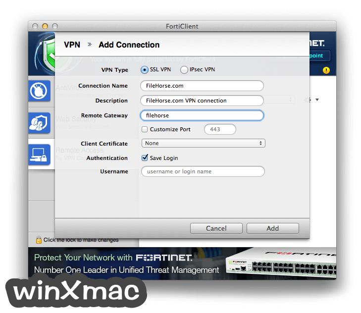 FortiClient for Mac Screenshot 4