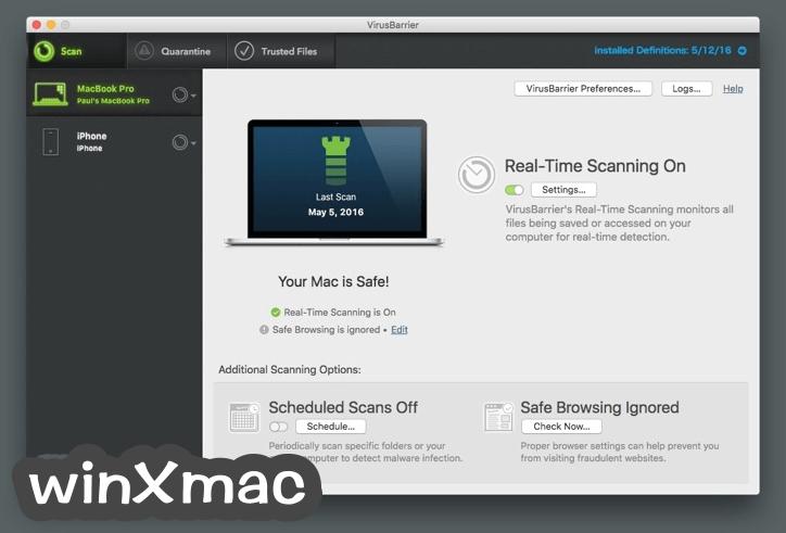Intego Internet Security for Mac Screenshot 1