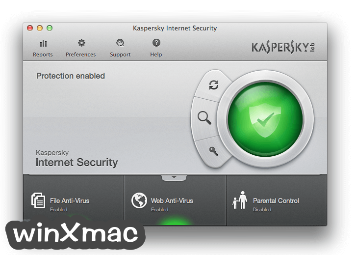 Kaspersky Internet Security for Mac Screenshot 1