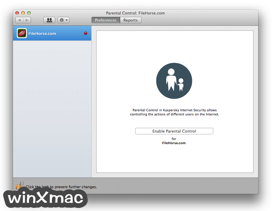 Kaspersky Internet Security for Mac Screenshot 4