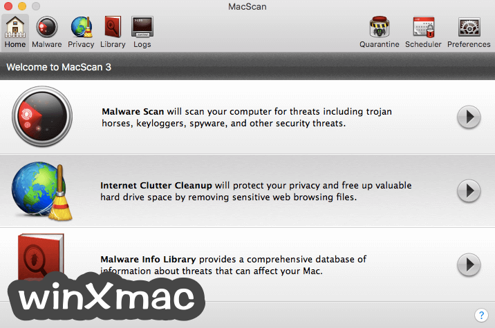 MacScan Screenshot 1