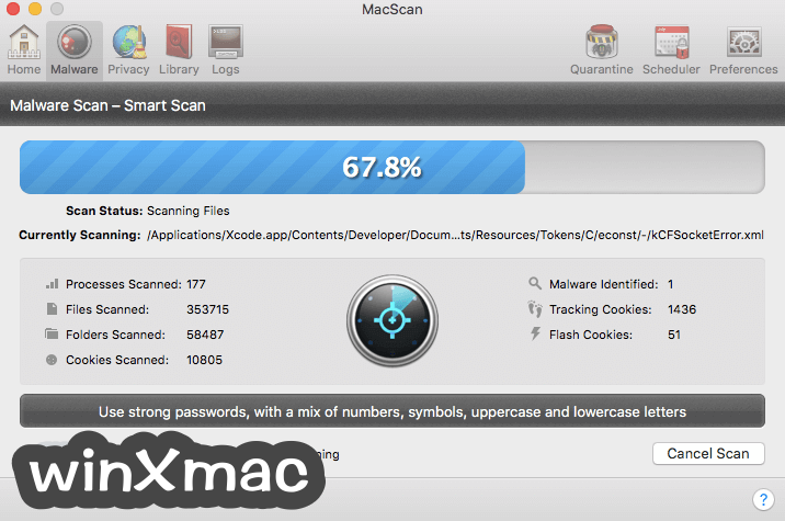 MacScan Screenshot 2