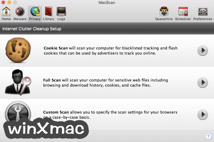 MacScan Screenshot 3