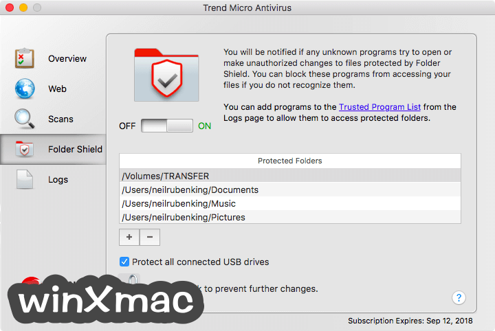 Trend Micro Antivirus for Mac Screenshot 4