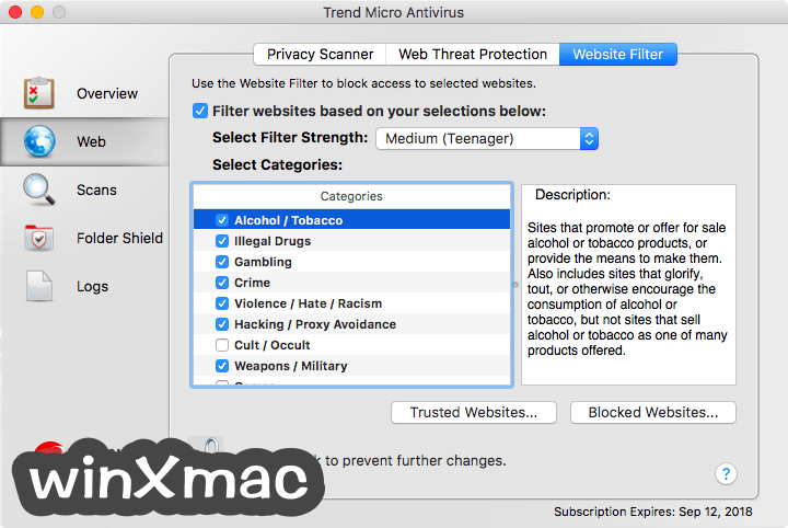 Trend Micro Antivirus for Mac Screenshot 5
