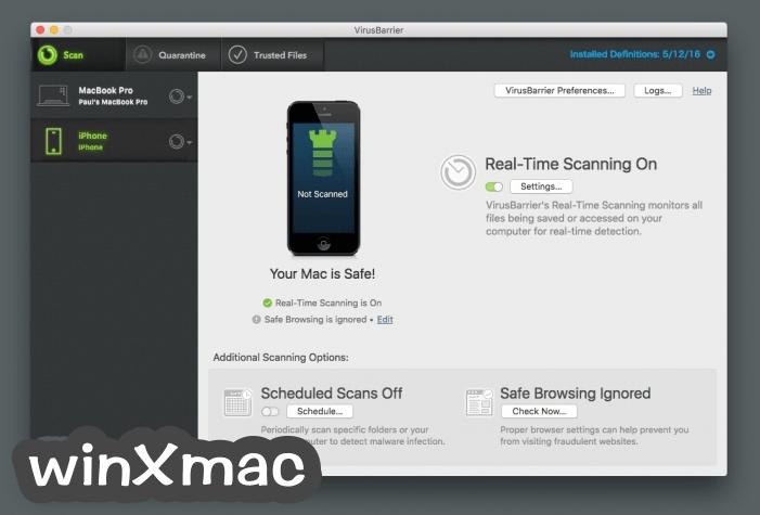 VirusBarrier for Mac Screenshot 4