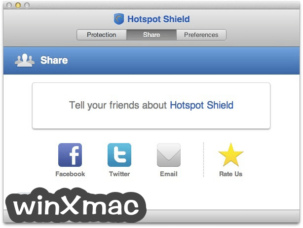 Hotspot Shield for Mac Screenshot 2