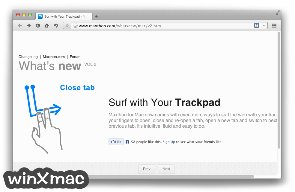 Maxthon for Mac Screenshot 2