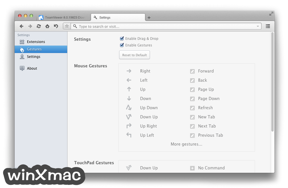 Maxthon for Mac Screenshot 5
