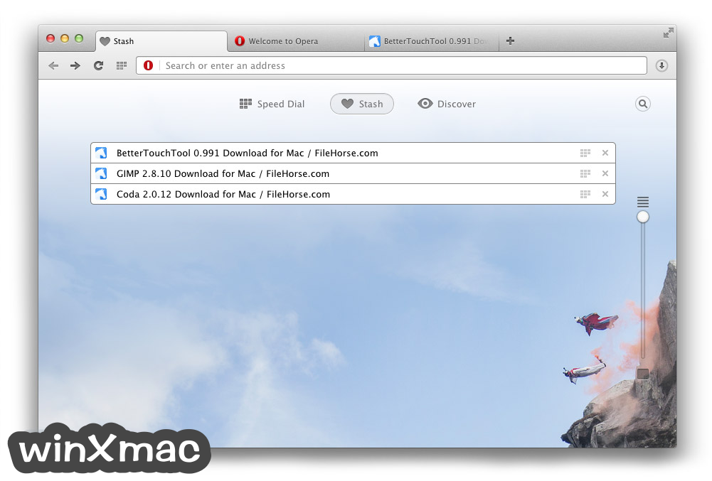 Opera for Mac Screenshot 4