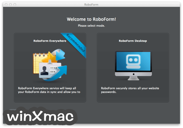 RoboForm for Mac Screenshot 1