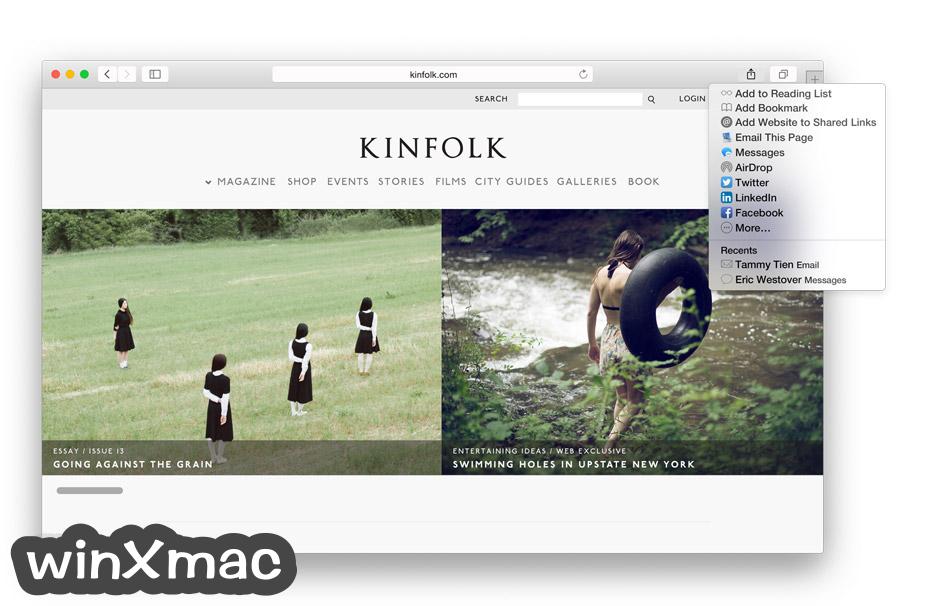 Safari for Mac Screenshot 2