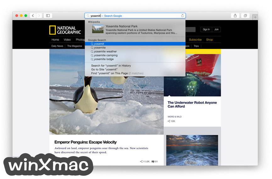Safari for Mac Screenshot 4