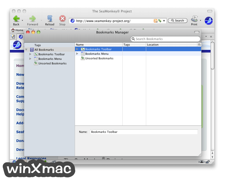 SeaMonkey for Mac Screenshot 3
