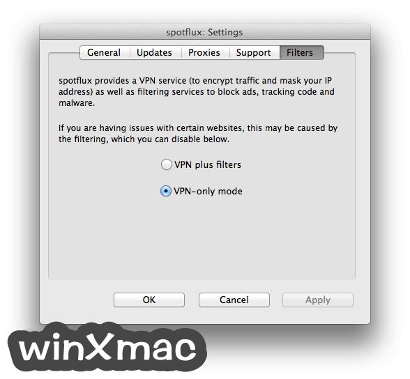 Spotflux for Mac Screenshot 3