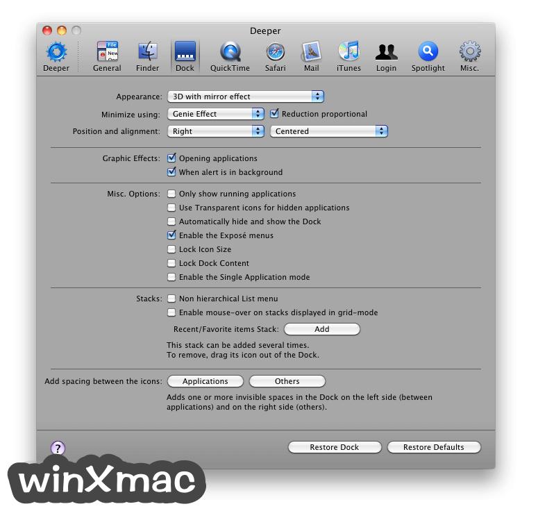 Deeper for Mac Screenshot 2