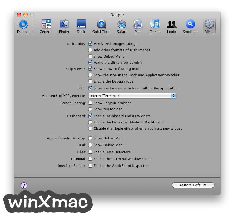 Deeper for Mac Screenshot 4