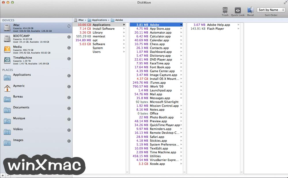 DiskWave for Mac Screenshot 1