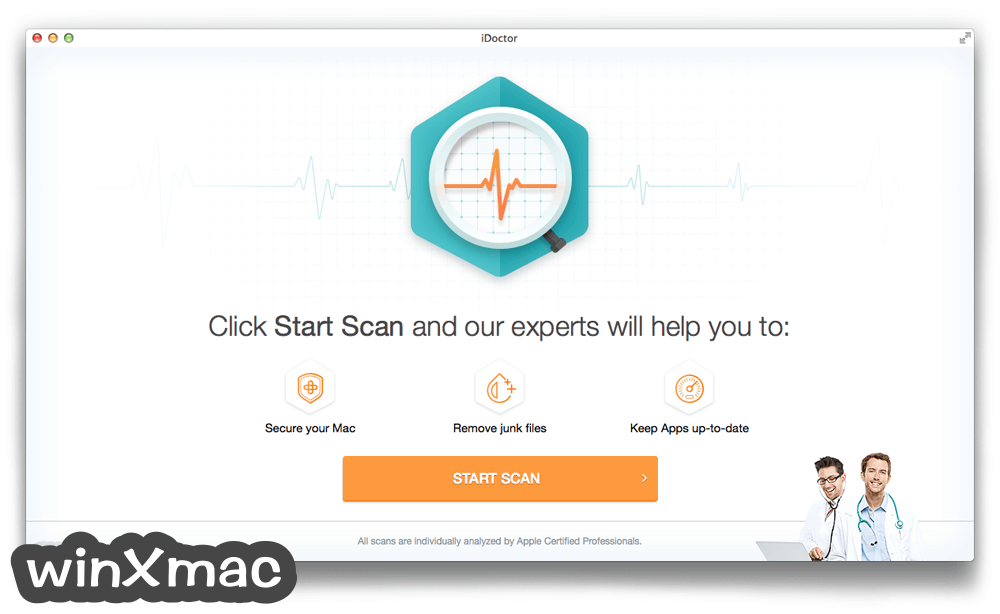 iDoctor for Mac Screenshot 1