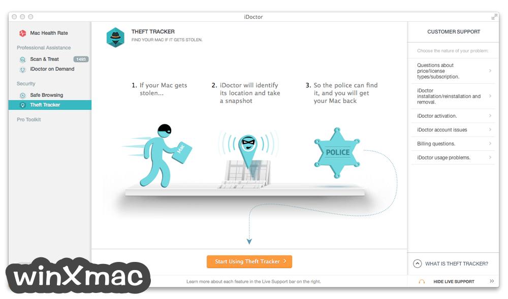 iDoctor for Mac Screenshot 4