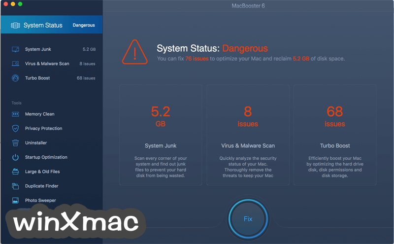 MacBooster Screenshot 1