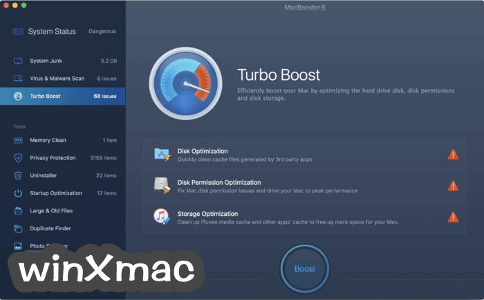 MacBooster Screenshot 2