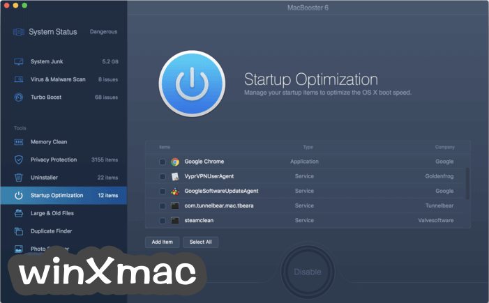 MacBooster Screenshot 5