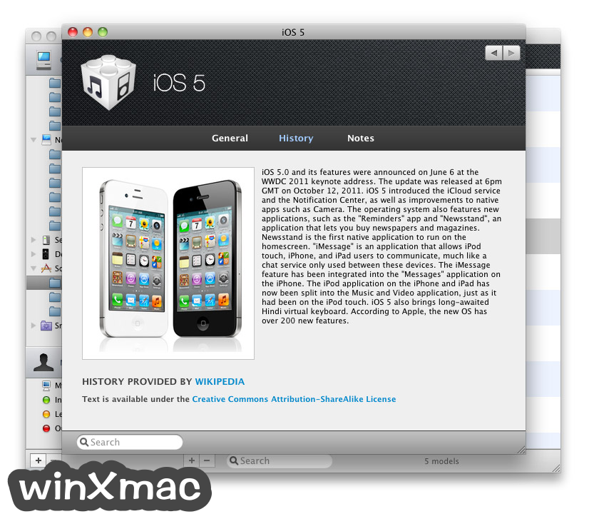 Mactracker Screenshot 2