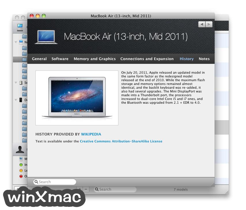 Mactracker Screenshot 3