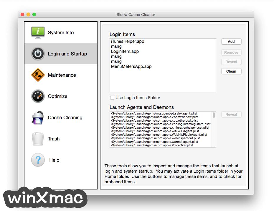 Sierra Cache Cleaner for Mac Screenshot 1