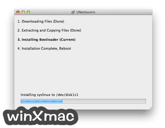 UNetbootin for Mac Screenshot 3
