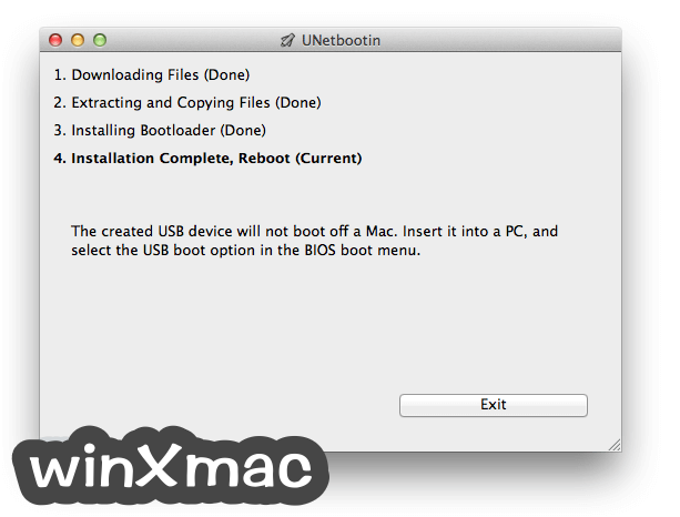UNetbootin for Mac Screenshot 4