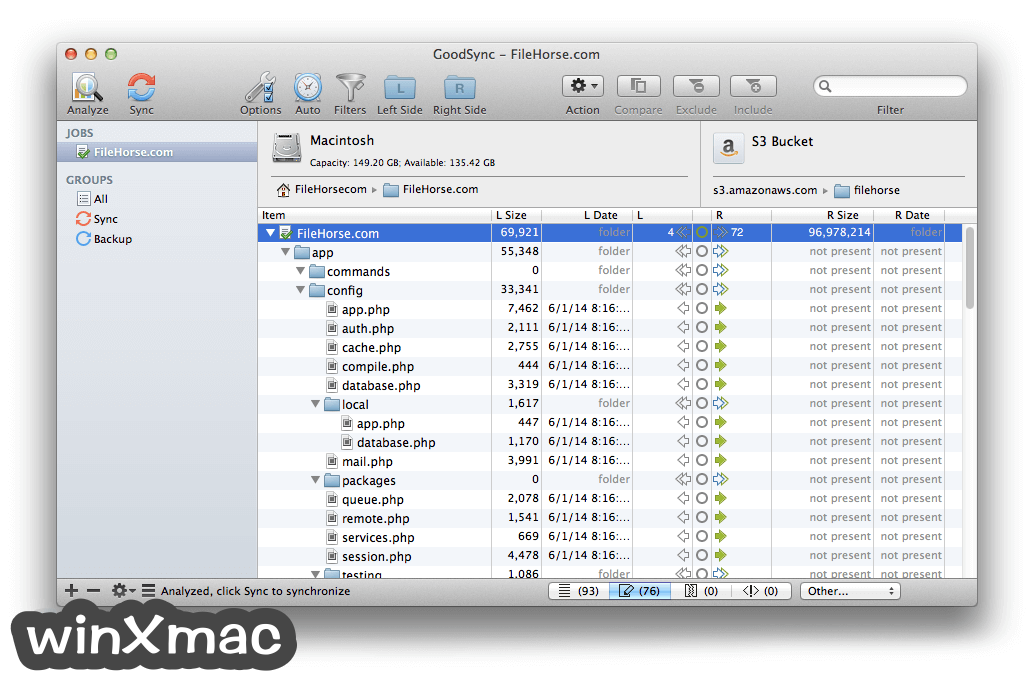 GoodSync for Mac Screenshot 3