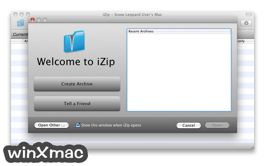 iZip for Mac Screenshot 1