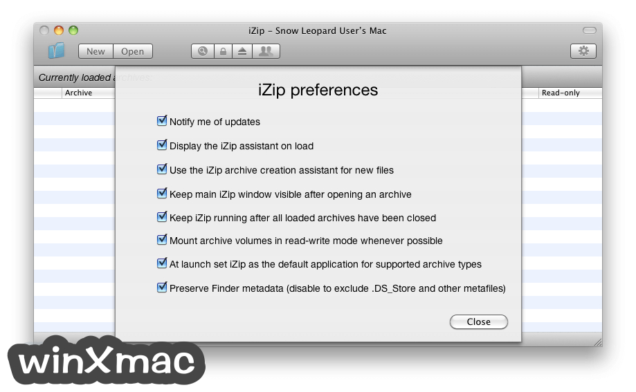 iZip for Mac Screenshot 3
