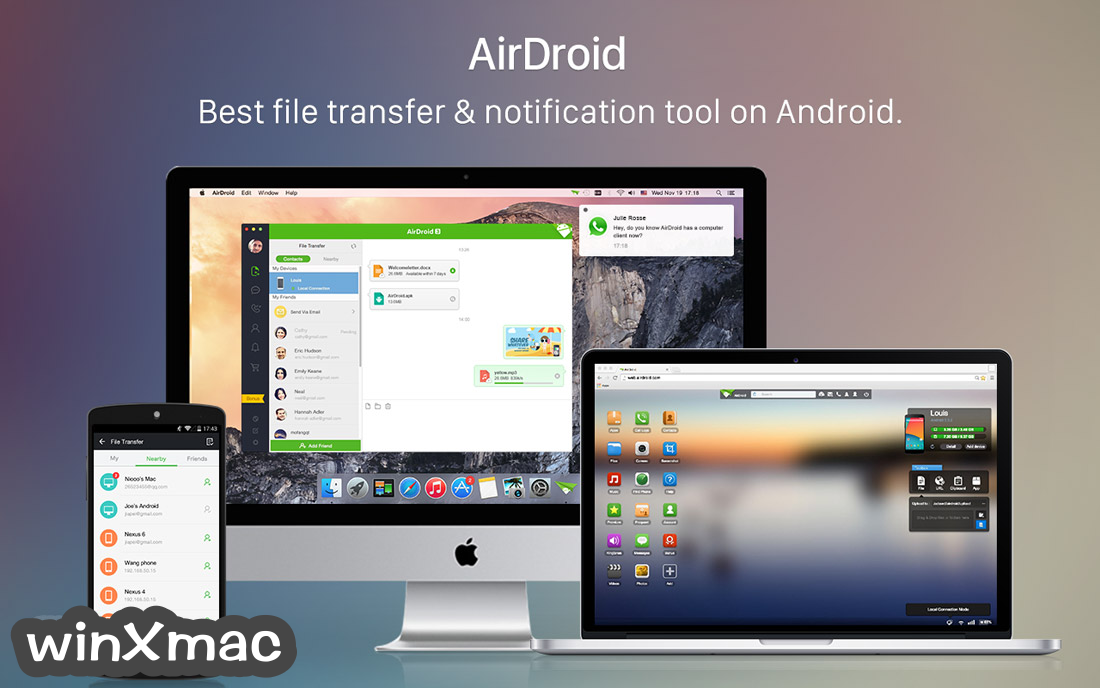 AirDroid for Mac Screenshot 1