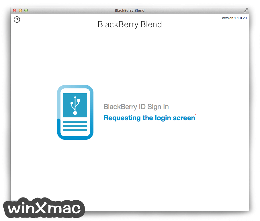BlackBerry Blend for Mac Screenshot 2