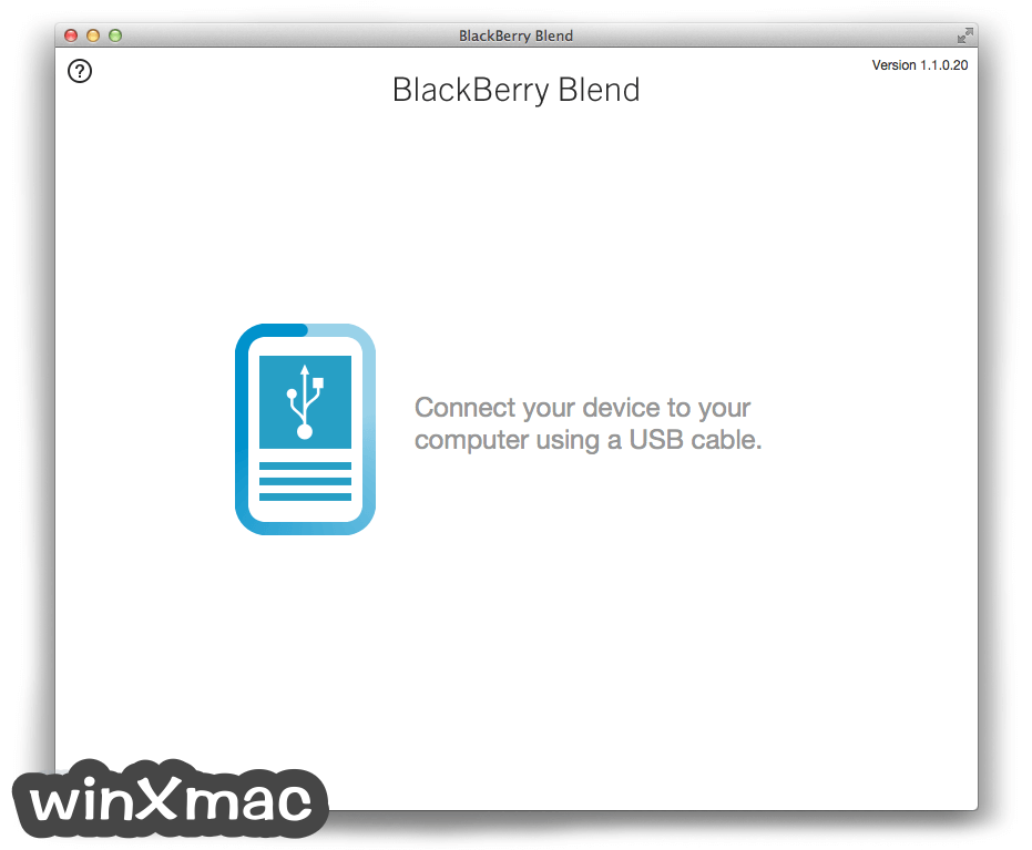 BlackBerry Blend for Mac Screenshot 4