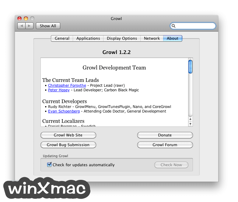 Growl for Mac Screenshot 3