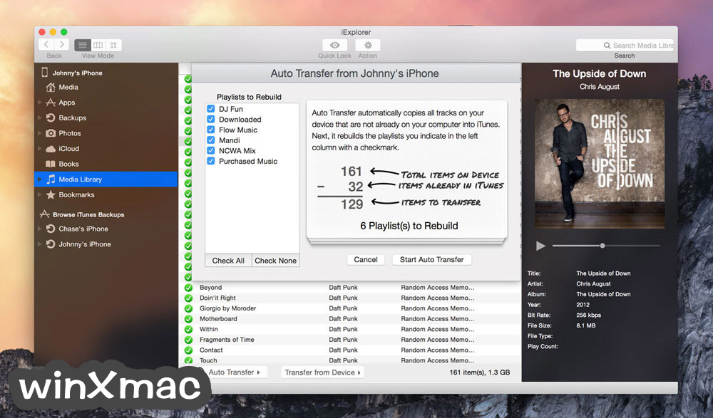 iExplorer for Mac Screenshot 3